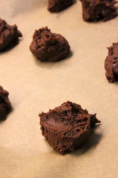 Cookie Teig roh