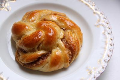 Kardamomschnecken frisch gebacken