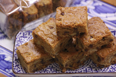 Blondies chewy